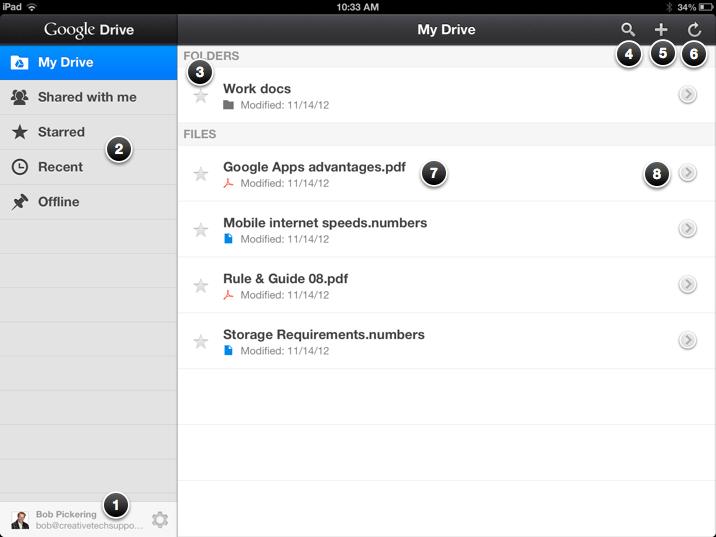 Google Drive iPhone & iPad setup | Creative Tech Support