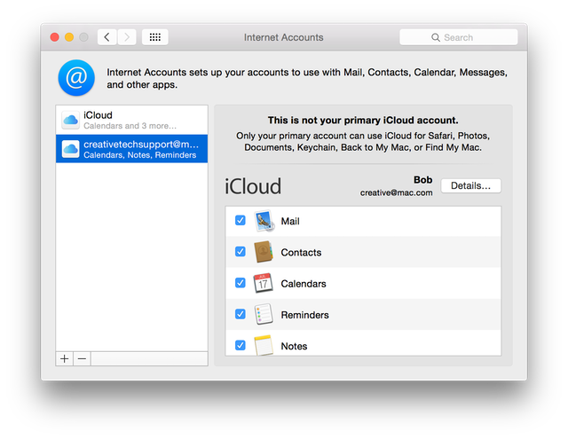 how to delete icloud mail account on mac